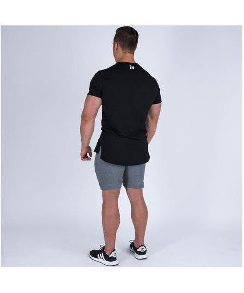 Muscle Nation Oversize Nation T-Shirt Black-Muscle Nation-Gym Wear