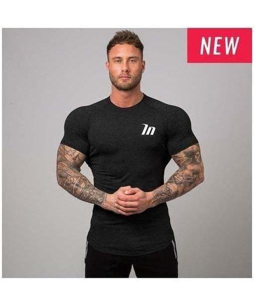Muscle Nation ClimaFlex T-Shirt Black-Muscle Nation-Gym Wear