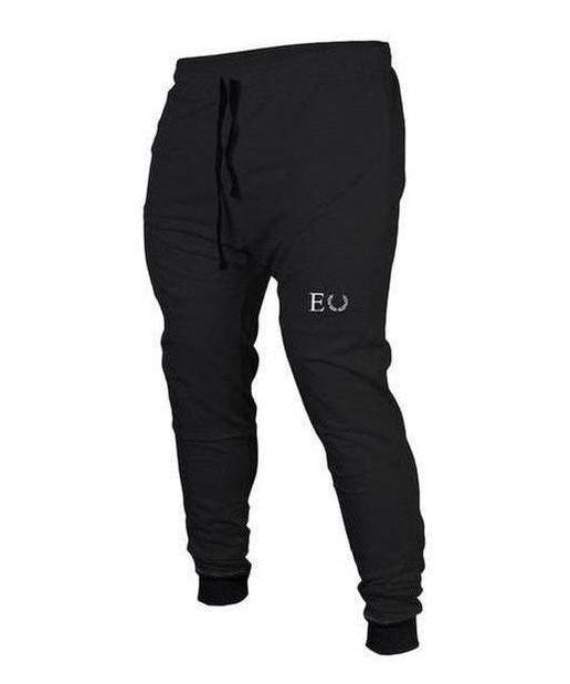 Echt Tapered Joggers Black