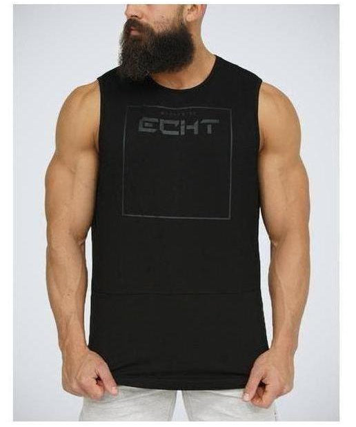 Image of Echt Force Dry Muscle Top Stealth Black
