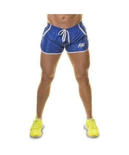 Image of Aspire Wear Aesthetic Shorts Blue