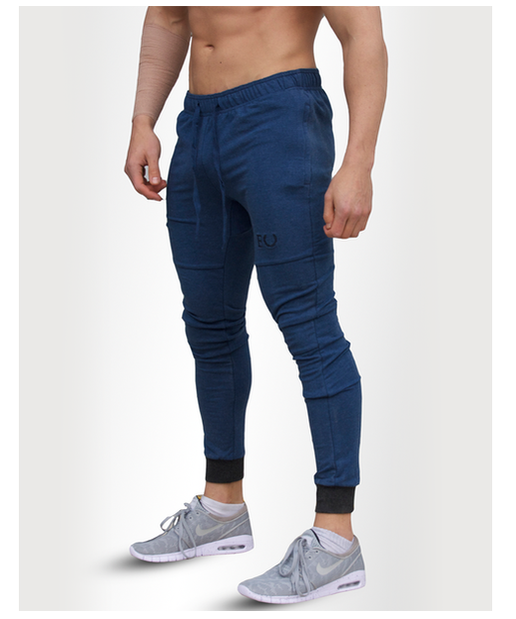 Echt Tapered Joggers Blue