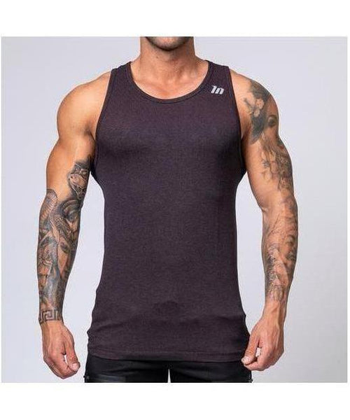 Muscle Nation Ghost V2 Seamless Vest Burgundy-Muscle Nation-Gym Wear