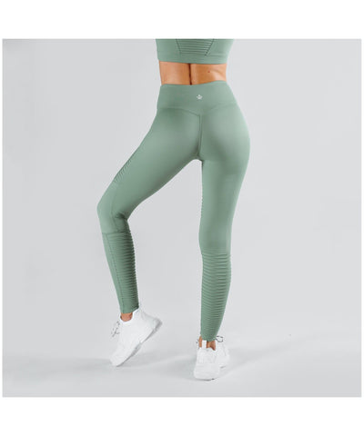 Workout Empire Regalia Leggings Khaki-Workout Empire-Gym Wear