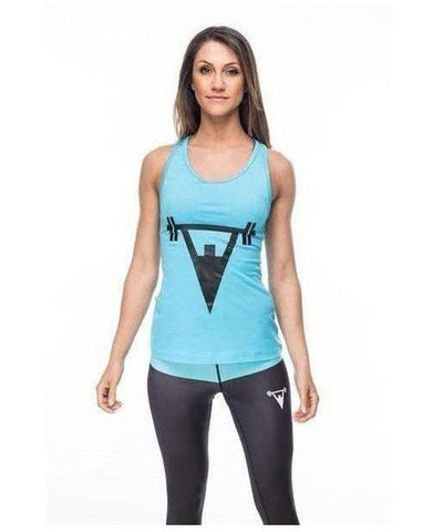 Cut Above 'Lifted' Womens Vest Teal