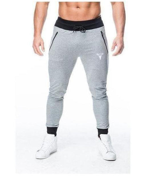 Cut Above Performance Joggers Grey Marl-Cut Above-Gym Wear