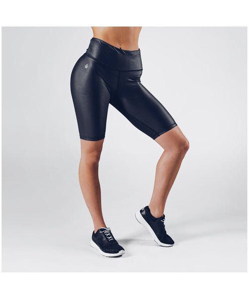 Workout Empire Core Biker Shorts Black
