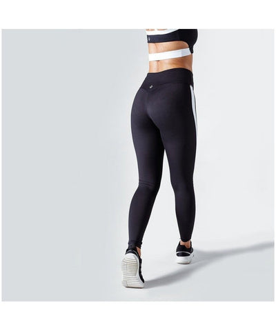 Workout Empire Strike Leggings Black-Workout Empire-Gym Wear