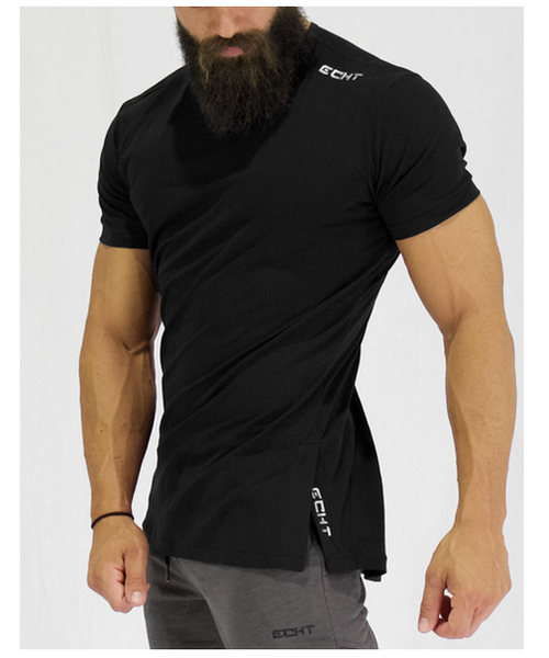 Echt Force Dry T-Shirt V2 Black-Echt-Gym Wear
