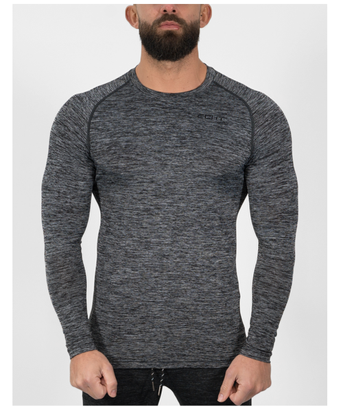 Echt Impetus Dry Long Sleeve T-Shirt Haze-Echt-Gym Wear