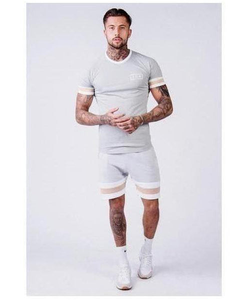 304 Clothing T-Shirt Grey-304 Clothing-Gym Wear