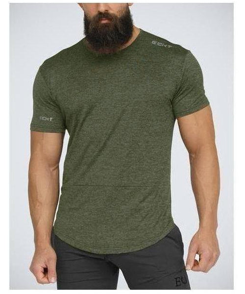 Echt Impetus Dry T-Shirt Khaki-Echt-Gym Wear