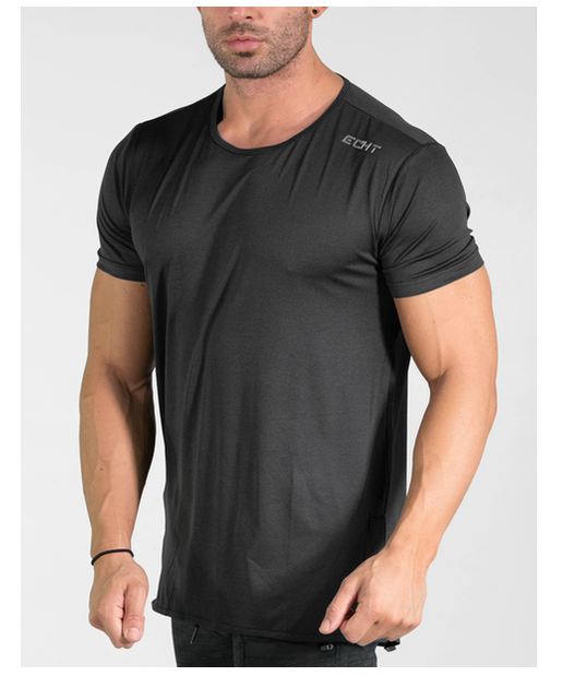 Echt Impetus Dry T-Shirt V2 Carbon-Echt-Gym Wear