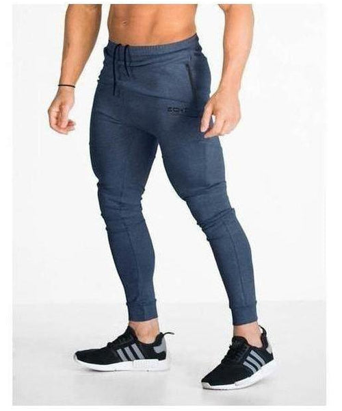 Echt Tapered Joggers V2 Navy-Echt-Gym Wear