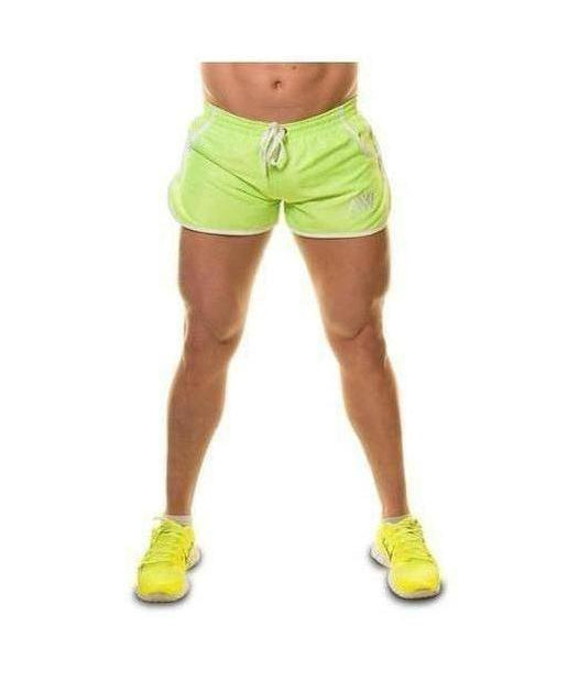 Image of Aspire Wear Aesthetic Shorts Lime Green