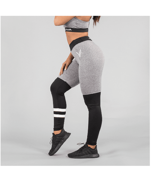 Versa Forma Original Leggings Grey-Versa Forma-Gym Wear