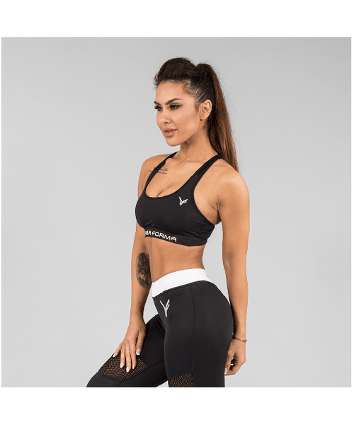 Versa Forma Original Sports Bra Black-Versa Forma-Gym Wear