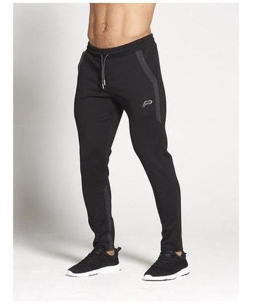Pursue Fitness Pro Fit Sport Joggers Black/Grey-Pursue Fitness-Gym Wear