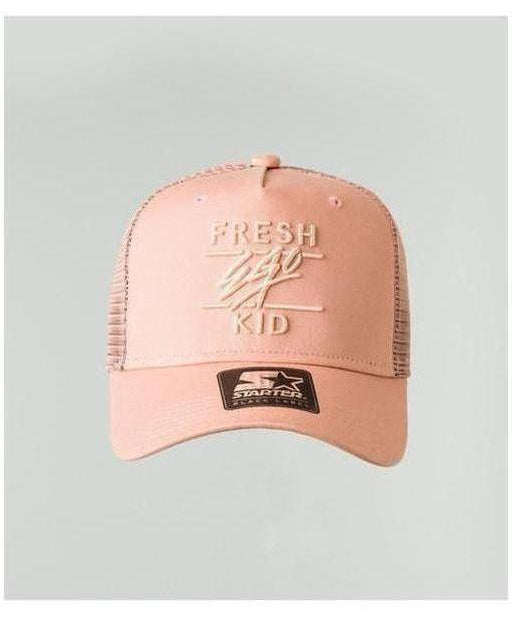 Fresh Ego Kid Mesh Trucker Cap Peach