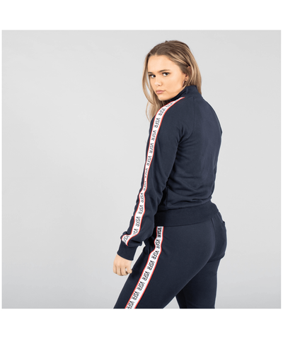 Versa Forma Ava Track Zip Top Navy-Versa Forma-Gym Wear