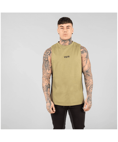 Versa Forma Booksar Vented Tank Olive