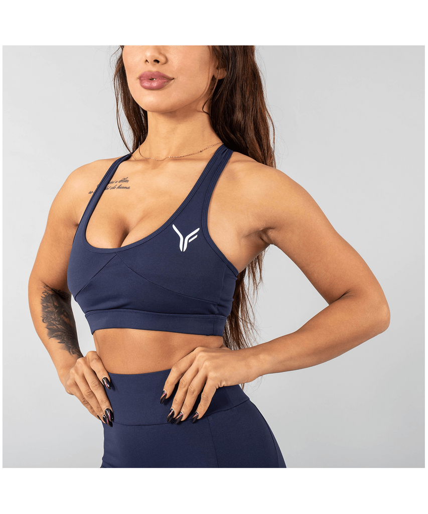 Versa Forma Vivekk Sports Bra Navy-Versa Forma-Gym Wear