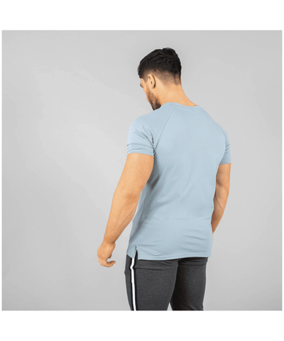 Versa Forma Coms T-Shirt Blue-Versa Forma-Gym Wear