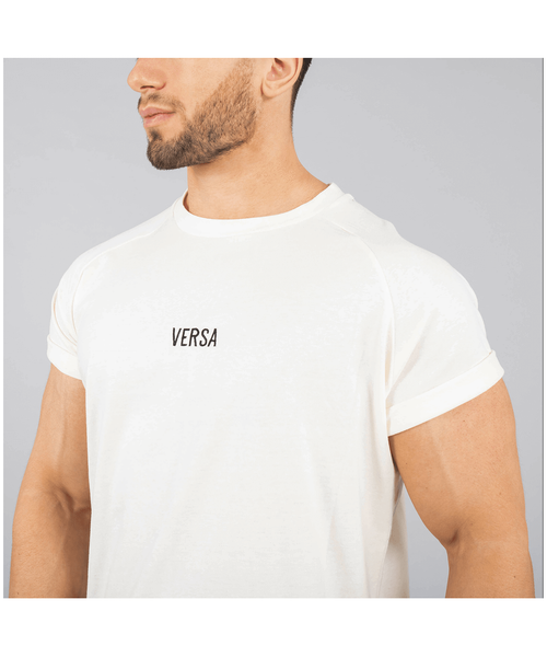 Versa Forma Vendor T-Shirt White-Versa Forma-Gym Wear