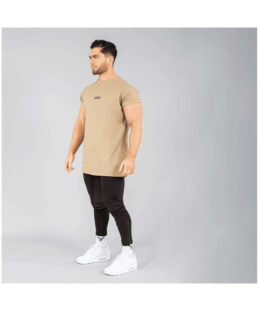Versa Forma Vendor T-Shirt Tan-Versa Forma-Gym Wear