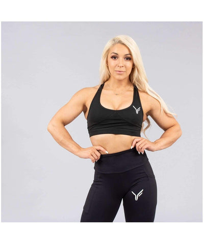 Versa Forma Lagom Sports Bra Black-Versa Forma-Gym Wear