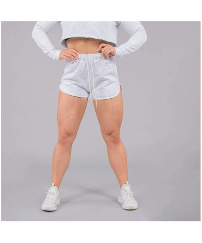 Versa Forma Nao Shorts White Heather-Versa Forma-Gym Wear