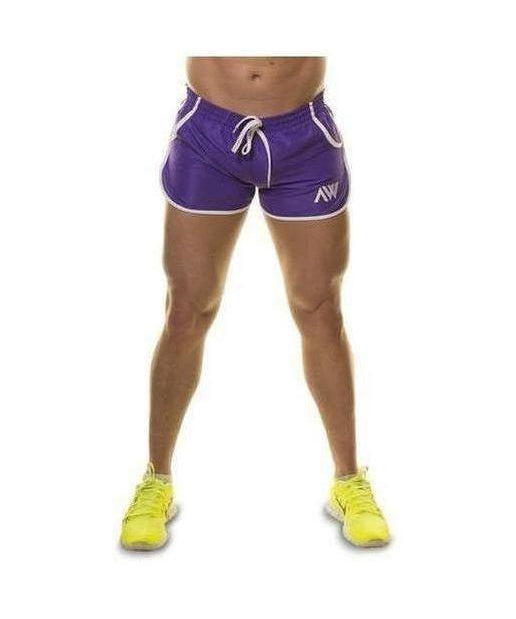 Image of Aspire Wear Aesthetic Shorts Purple