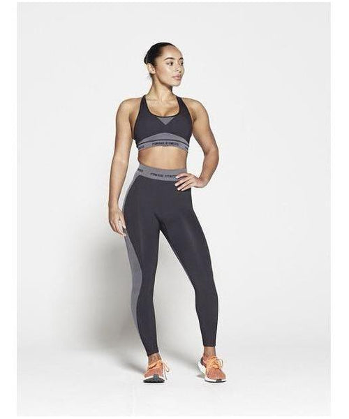 Pursue Fitness Seamless Sports Bra Black-Pursue Fitness-Gym Wear