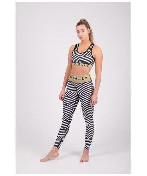 Totally Sassy Zebra Leggings-Totally Sassy-Gym Wear