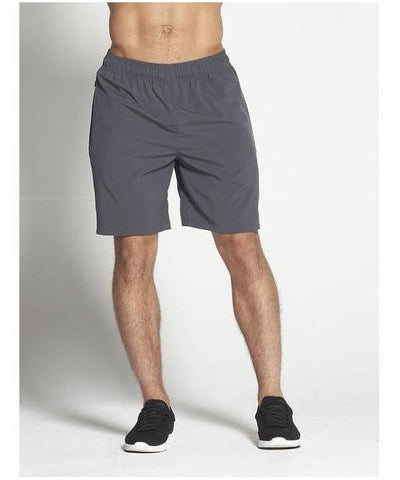 "Pursue Fitness 8"" Gym Shorts Grey-Pursue Fitness-Gym Wear"