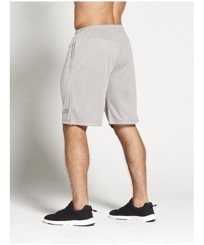 Pursue Fitness BreathEasy 3.0 Shorts Grey-Pursue Fitness-Gym Wear
