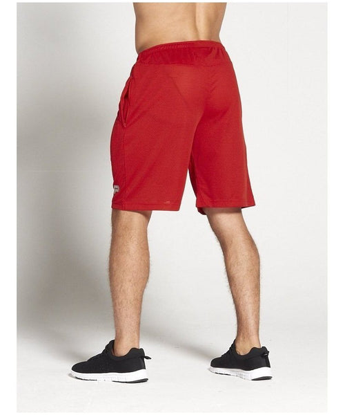 Pursue Fitness BreathEasy 3.0 Shorts Red-Pursue Fitness-Gym Wear