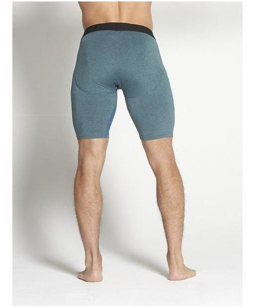 Pursue Fitness Compression Shorts Teal-Pursue Fitness-Gym Wear