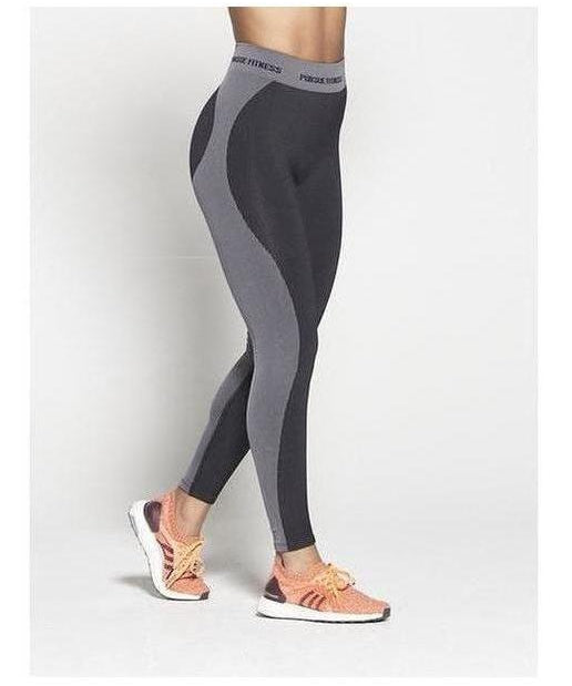 Pursue Fitness Seamless High Waisted Leggings Black-Pursue Fitness-Gym Wear