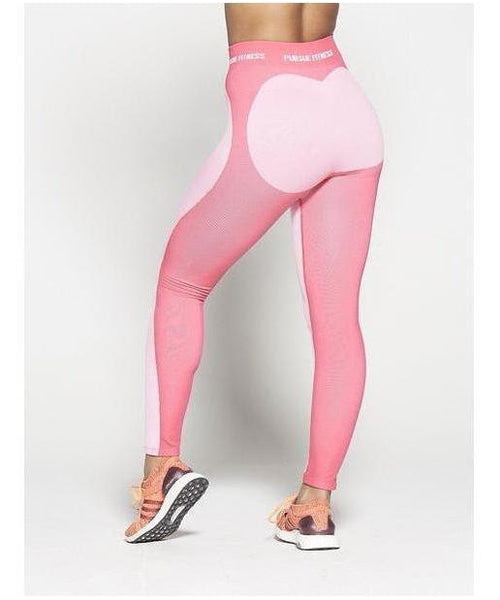 9a0cf2af69 Pursue Fitness Seamless High Waisted Leggings Pastel Pink-Pursue Fitness-Gym  Wear