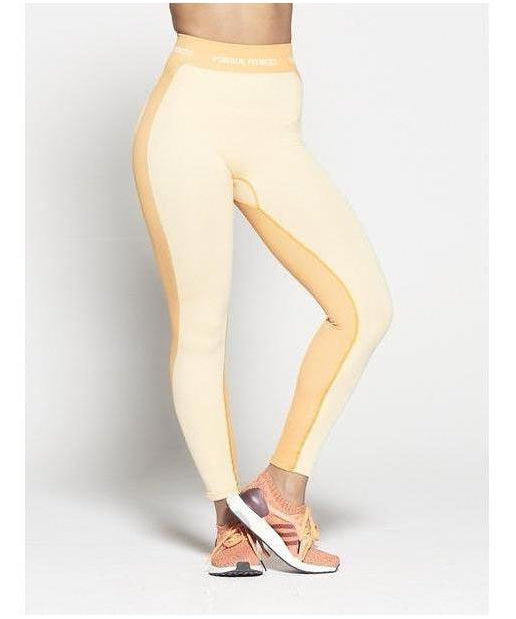 28d8480b32 Pursue Fitness Seamless High Waisted Leggings Sherbet Orange-Pursue Fitness-Gym  Wear