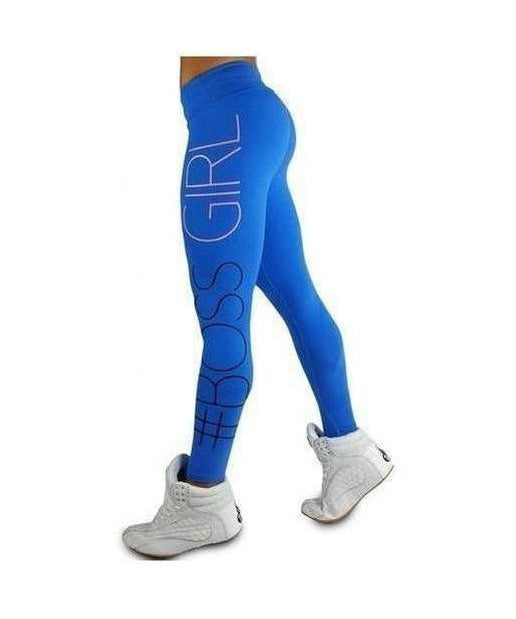 RyderWear Womens Boss Girl Leggings Blue
