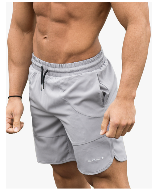 Echt Force Dry Shorts Silver-Echt-Gym Wear