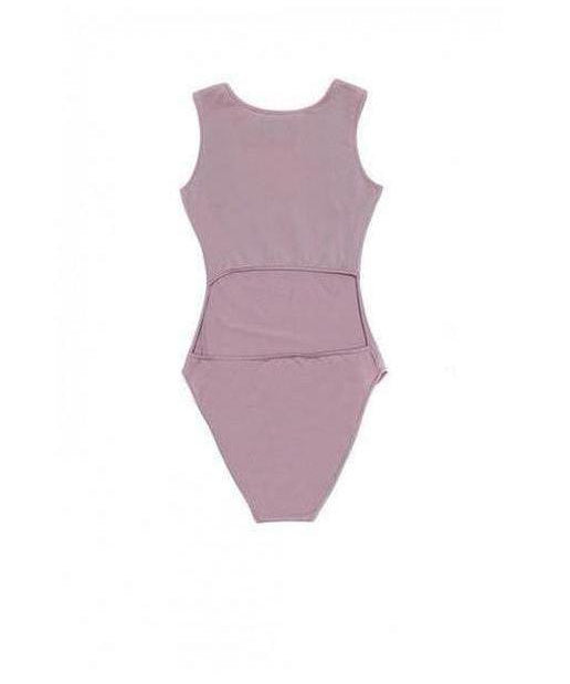 Sixth June Logo Sport Bodysuit Pink-Sixth June-Gym Wear