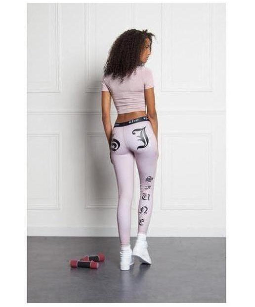 Image of Sixth June Gothic Sport Leggings Pink