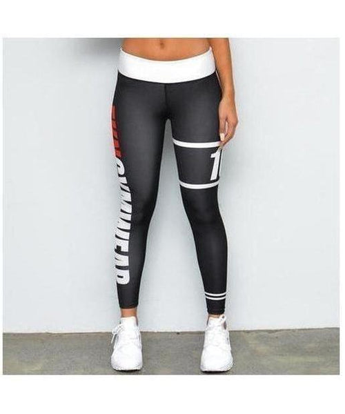 Womens FKN STFO Leggings-FKN Gym Wear-Gym Wear