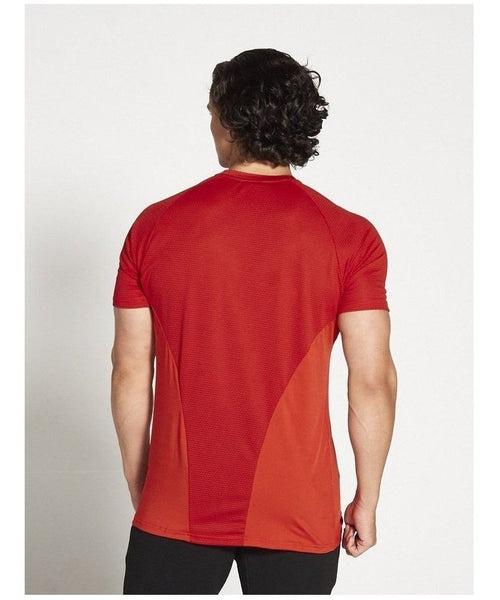 Pursue Fitness Breatheasy 3.0 T-Shirt Red-Pursue Fitness-Gym Wear
