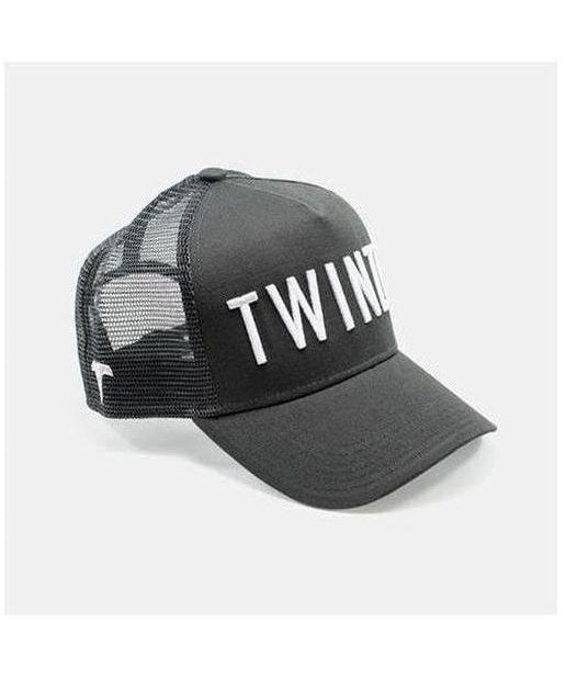 Image of Twinzz 3D Mesh Trucker Cap Charcoal/White