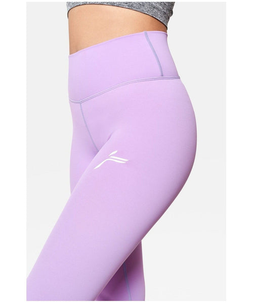 Famme Essential Seamless High Waisted Leggings Violet-Famme-Gym Wear