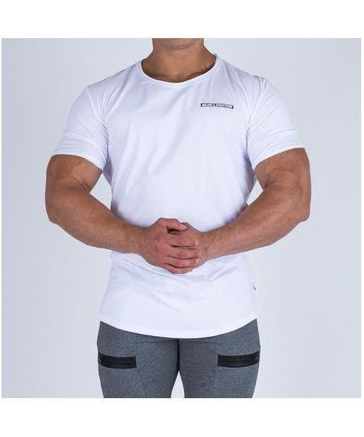 Muscle Nation Oversize Nation T-Shirt White-Muscle Nation-Gym Wear